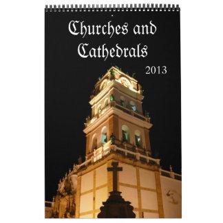 churches 2013 calendar
