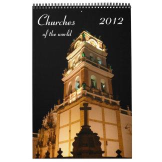 churches calendar 2012