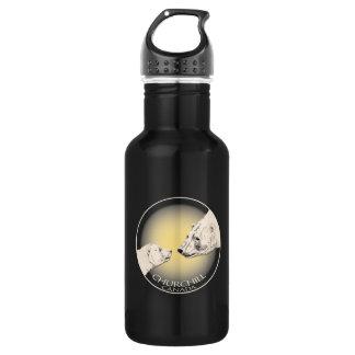 Churchill Bear Art Bear Art Stainless Steel Water Bottle