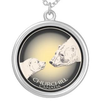 Churchill Canada Necklace Polar Bear Souvenir Gift