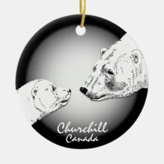 Churchill Canada Ornament Polar Bear Art Keepsake
