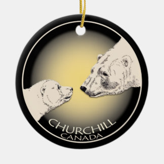 Churchill Canada Ornament Polar Bear Art Keepsake