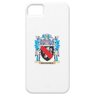 Churchill Coat of Arms - Family Crest iPhone 5 Cover