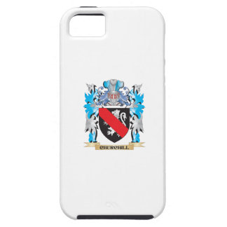 Churchill Coat of Arms - Family Crest iPhone 5 Case