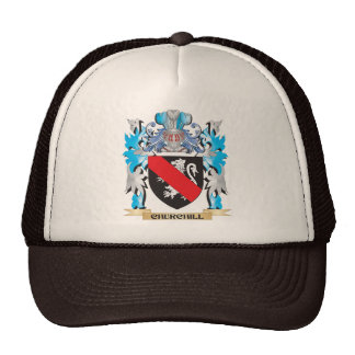 Churchill Coat of Arms - Family Crest Trucker Hat