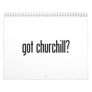 churchill conseguido calendario