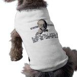 Churchill en conservadores y liberales playera sin mangas para perro