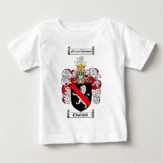 CHURCHILL FAMILY CREST -  CHURCHILL COAT OF ARMS BABY T-Shirt