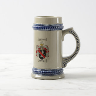 CHURCHILL FAMILY CREST -  CHURCHILL COAT OF ARMS BEER STEIN