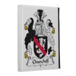 Churchill Family Crest iPad Case