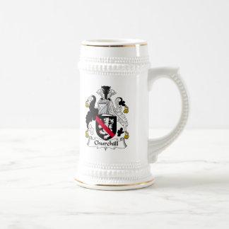Churchill Family Crest 18 Oz Beer Stein