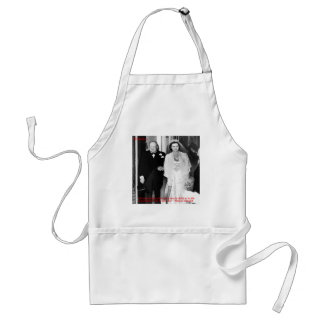 Churchill & Famous Marriage Quote Adult Apron