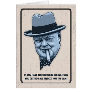 Churchill -Laws Card