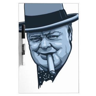 Churchill -Laws Dry-Erase Whiteboard