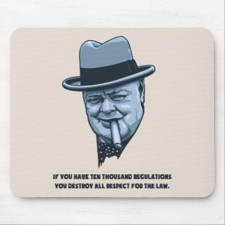 Churchill -Laws Mouse Pad
