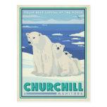 Churchill, Manitoba Tarjeta Postal