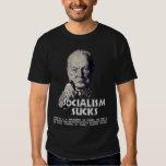 Churchill Quote:  Socialism Sucks! T-Shirt