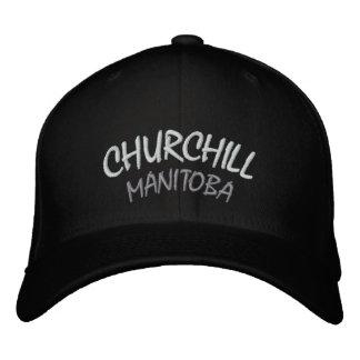 Churchill Souvenir Baseball Cap Embroidered Cap