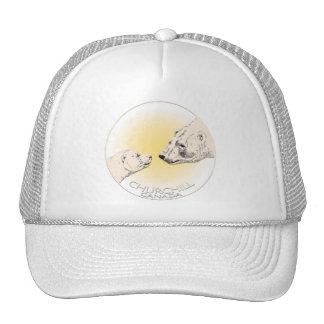 Churchill Souvenir Polar Bear Art T-Shirts & Gifts Trucker Hat