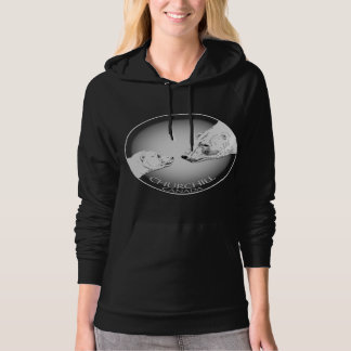 Churchill Souvenir Polar Bear Art Women's Hoodies