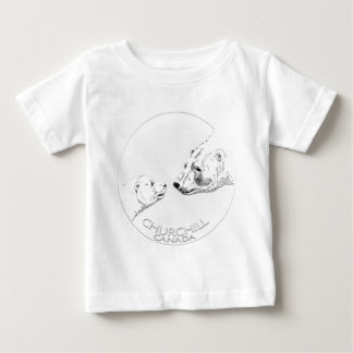 Churchill Souvenir Polar Bear Baby T-Shirt