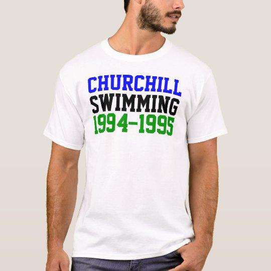 Churchill Swimming 1994 T-Shirt