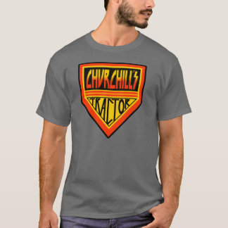 """Churchill's Tractor """"Army"""" T-Shirt"""