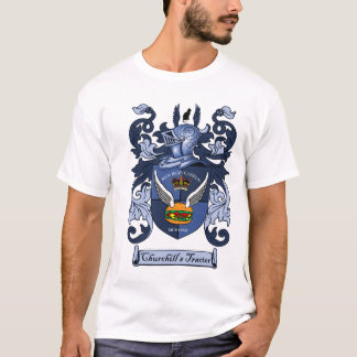 "Churchill's Tractor - ""Coat of Arms"" T-shirt"