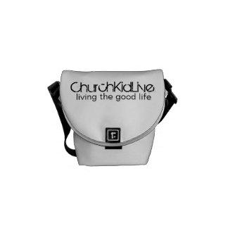 ChurchKidLive: Living the Good Life Courier Bag