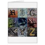 Churchyard ABCs Cards