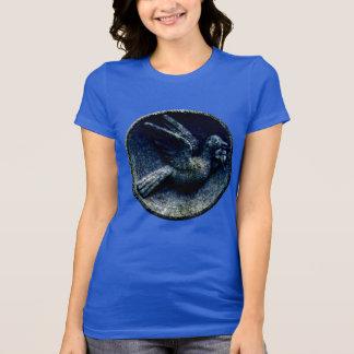 Churchyard Bird in the Round T-Shirt