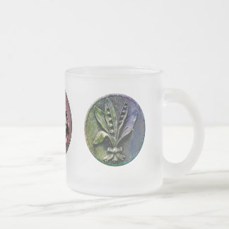 Churchyard Engravings 10 Oz Frosted Glass Coffee Mug