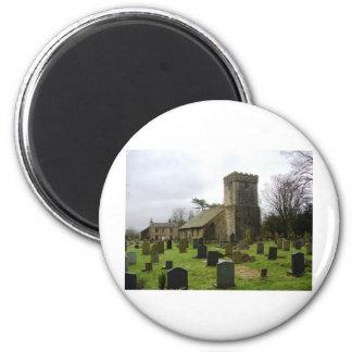 Churchyard 2 Inch Round Magnet