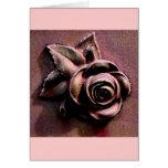 Churchyard Rose Greeting Card