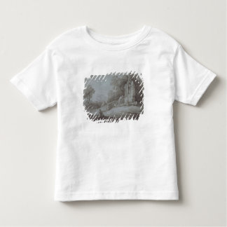 Churchyard with Figure Contemplating Tombstone (et Toddler T-shirt