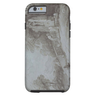 Churchyard with Figure Contemplating Tombstone (et Tough iPhone 6 Case