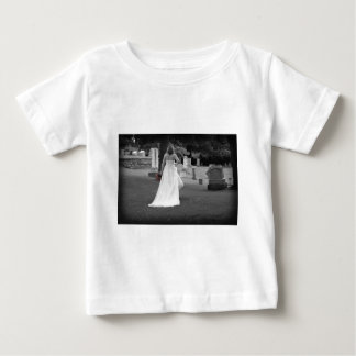 ChurchyardBackViewR091810BW Baby T-Shirt