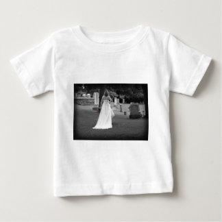 ChurchyardBackViewR091810BW T-shirt