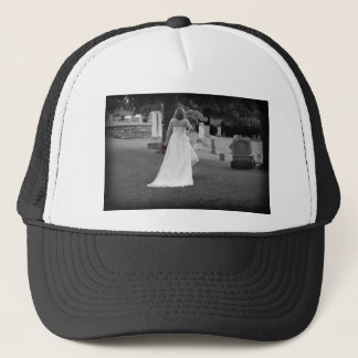 ChurchyardBackViewR091810BW Trucker Hat