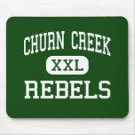 Churn Creek - Rebels - High - Redding California Mouse Mats