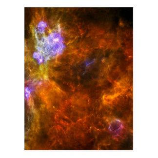 Churning Out Stars Postcard
