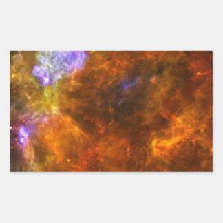 Churning Out Stars Rectangular Sticker