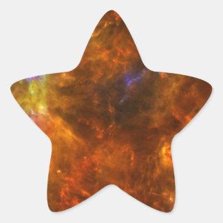 Churning Out Stars Star Sticker