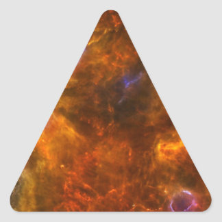 Churning Out Stars Triangle Sticker