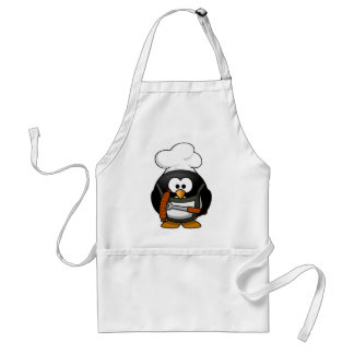 Churrasqueiro penguin adult apron