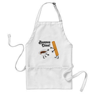 Churro & Chocolate - Buenos Dias! Adult Apron