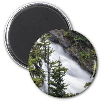 Chush Falls 2 Inch Round Magnet