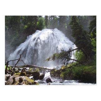 Chush Falls Postcard