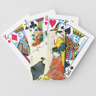 Chushingura Act Two 1801 Bicycle Playing Cards