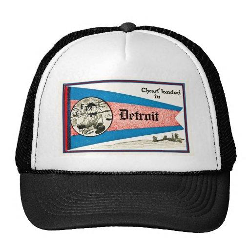 Chust Landed in Detroit - Vintage Trucker Hat
